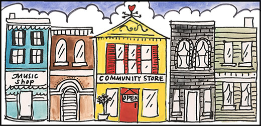 The Community Store in Saranac Lake