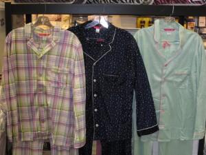Cozy fleece PJ sets for the ladies.