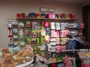 We keep adding to our baby & toddler sections.